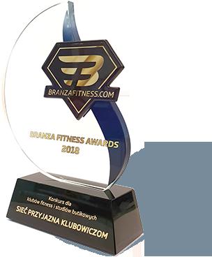 Najbardziej przyjazna siećklubów fitness według klubowiczóww 2018 roku.
